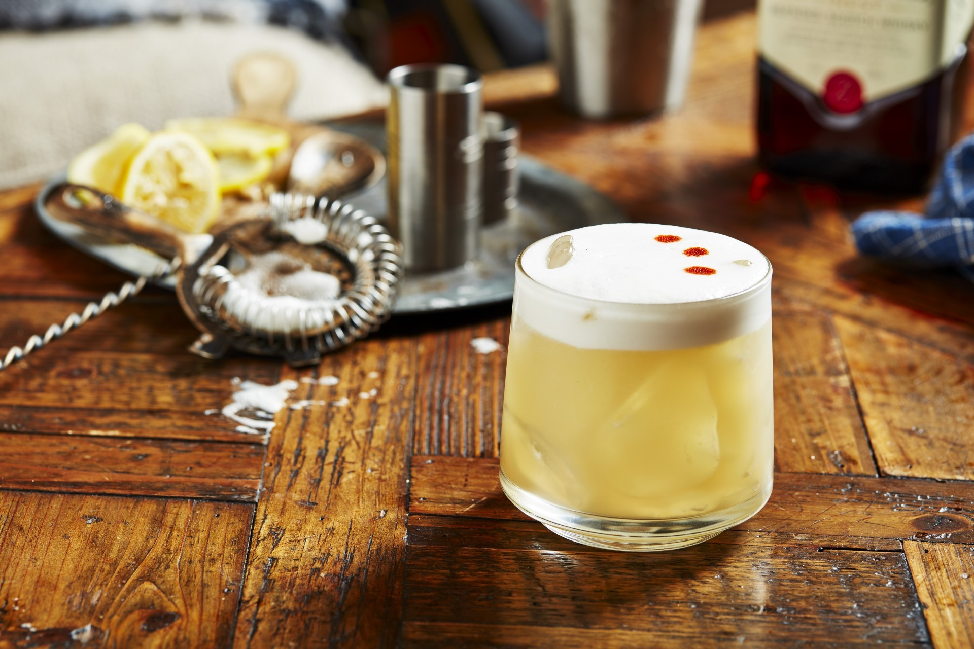 Ballantine's Finest Whisky Sour Drink