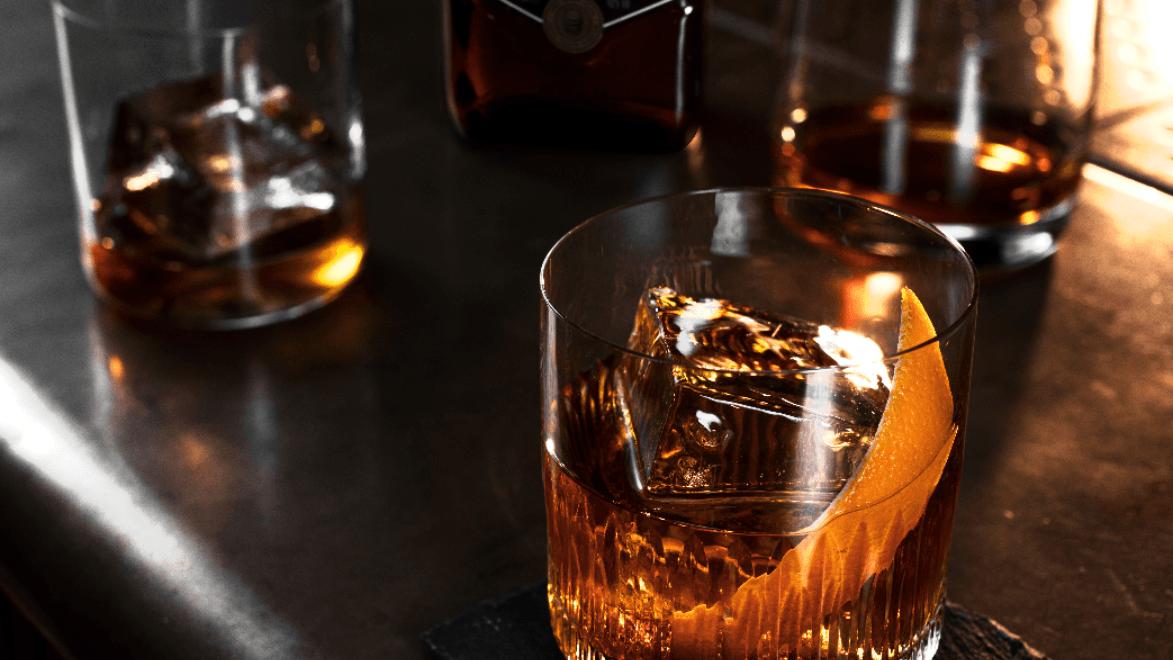 Ballantine's 7 Bourbon Finish Old Fashioned Cocktail