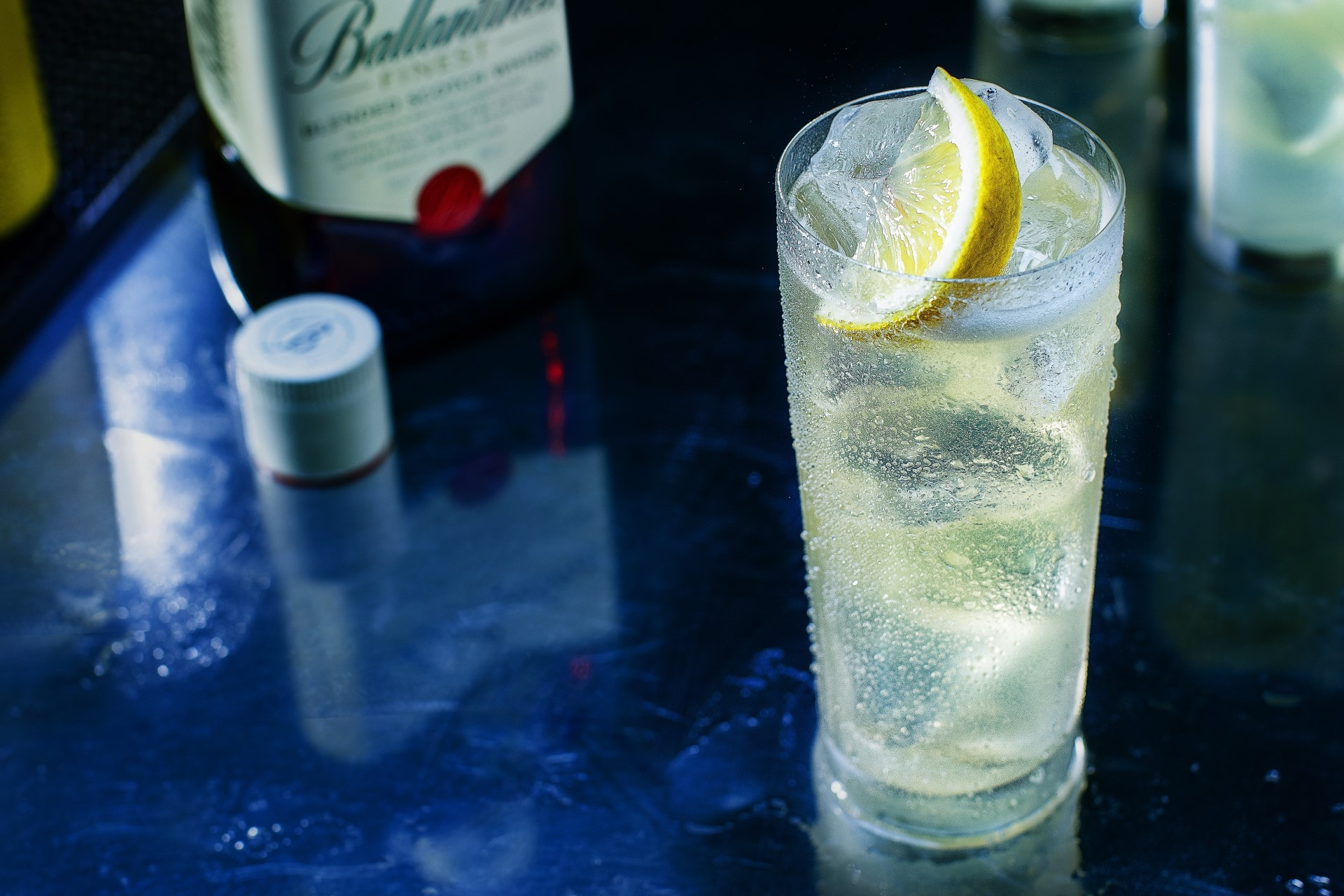 Ballantine's Finest Lemon Soda Drink