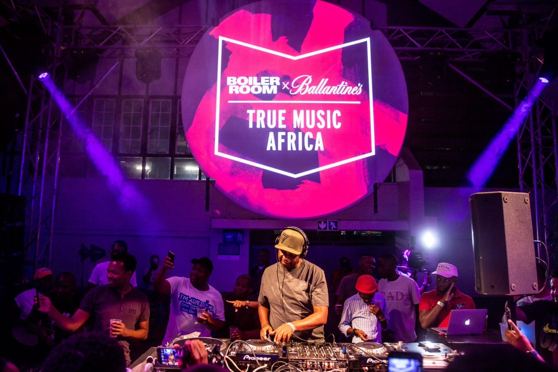 Ballantines Boiler Room Pretoria DJ Oskido
