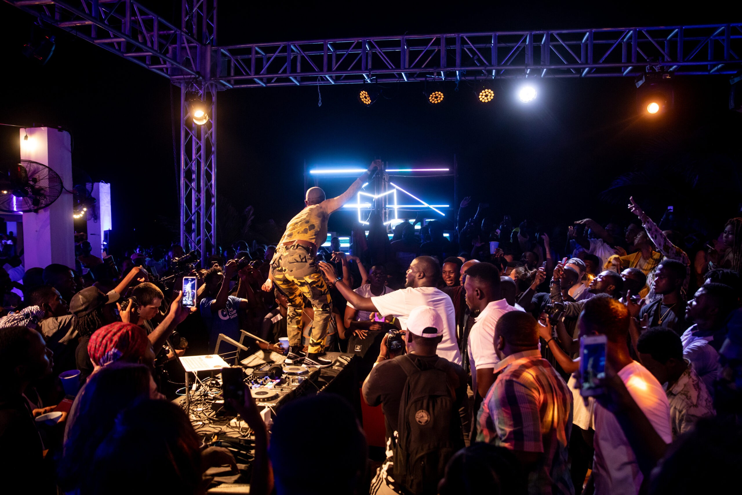 Ballantines x Boiler Room Accra