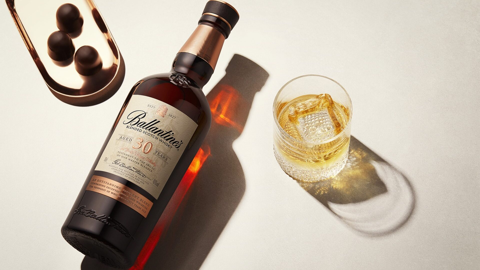 Ballantine's 30 Year Old On The Rocks Drink