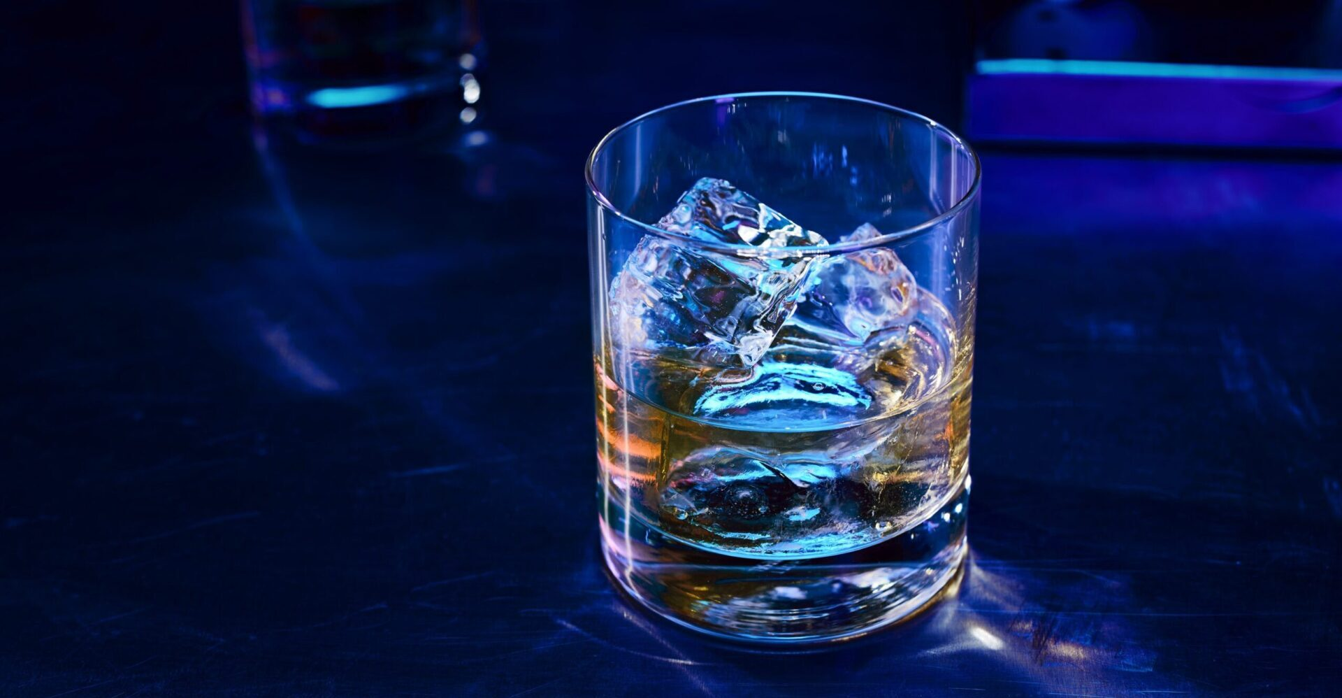 Ballantine's Finest served on the rocks