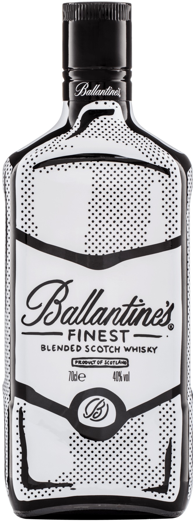 Ballantine's Joshua Vides Limited Edition Bottle