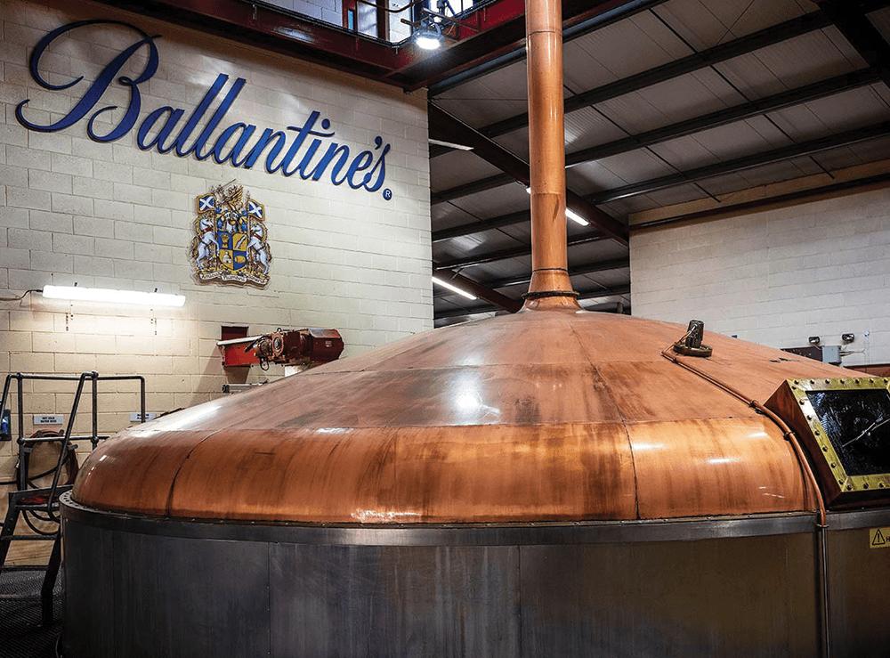 Ballantine's Mashing