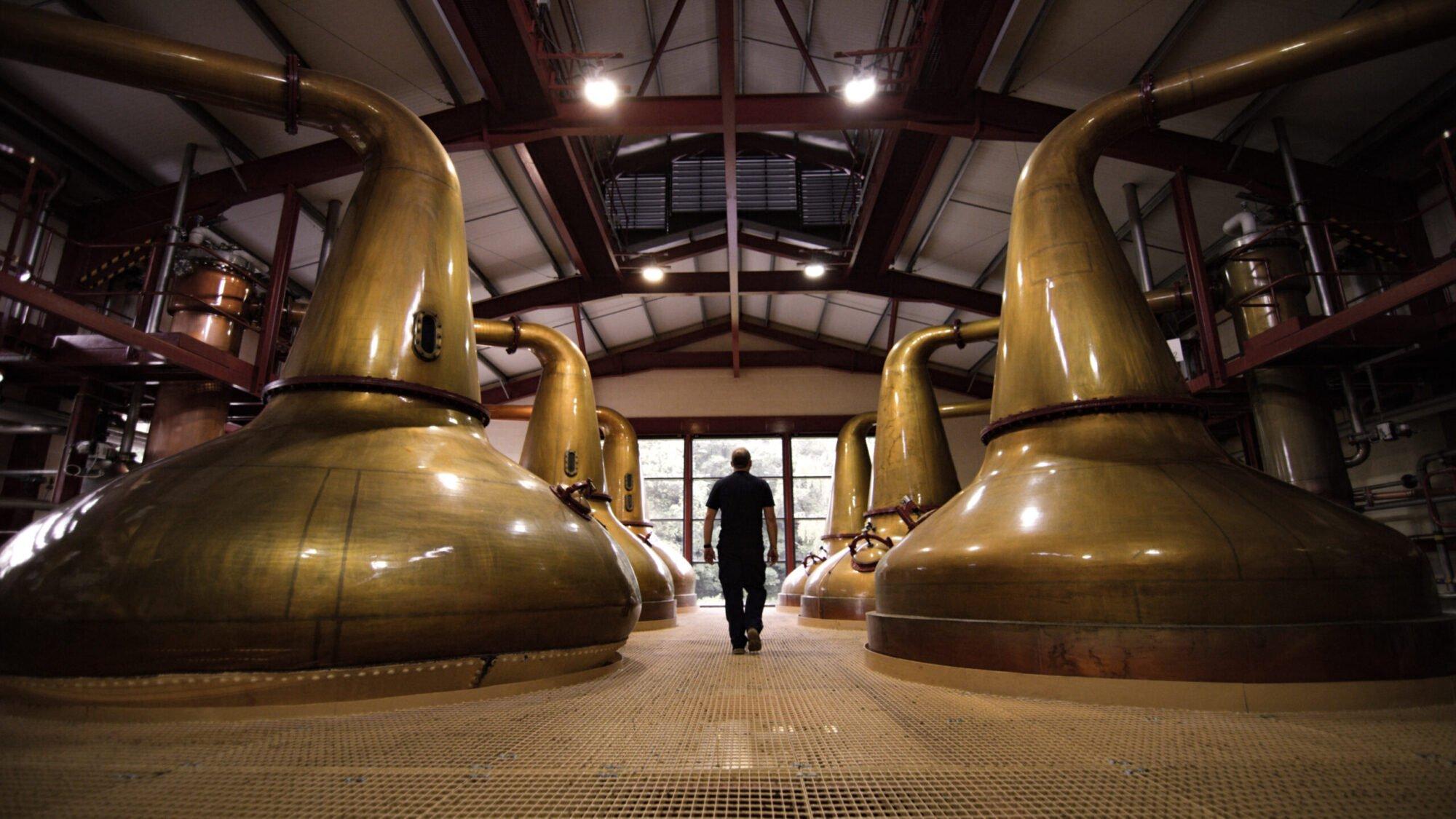 Ballantine's distillery room