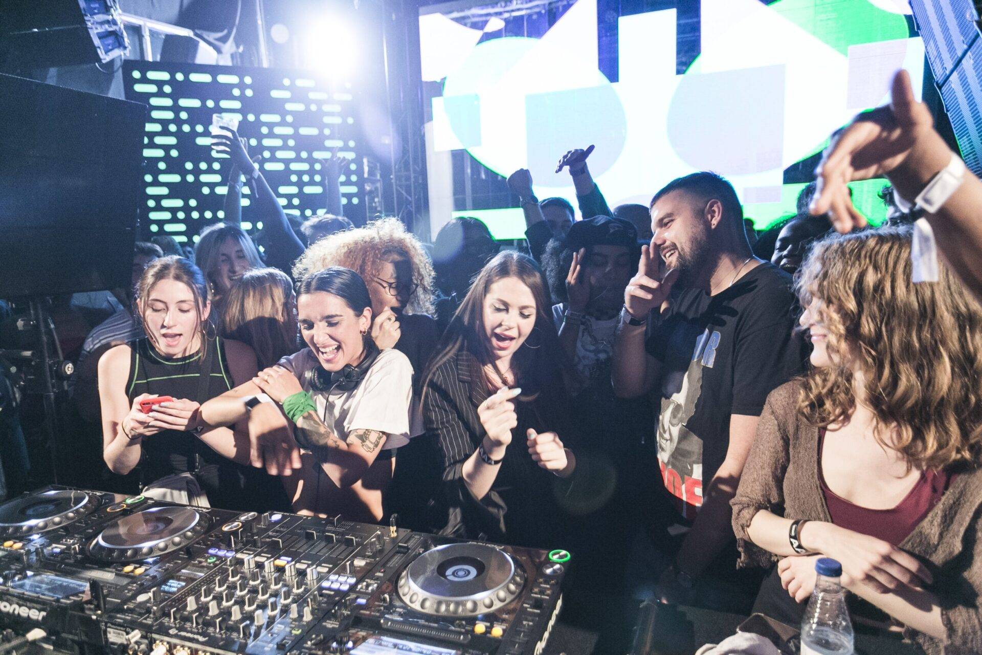 Chica Gang playing at Boiler Room True Music Madrid