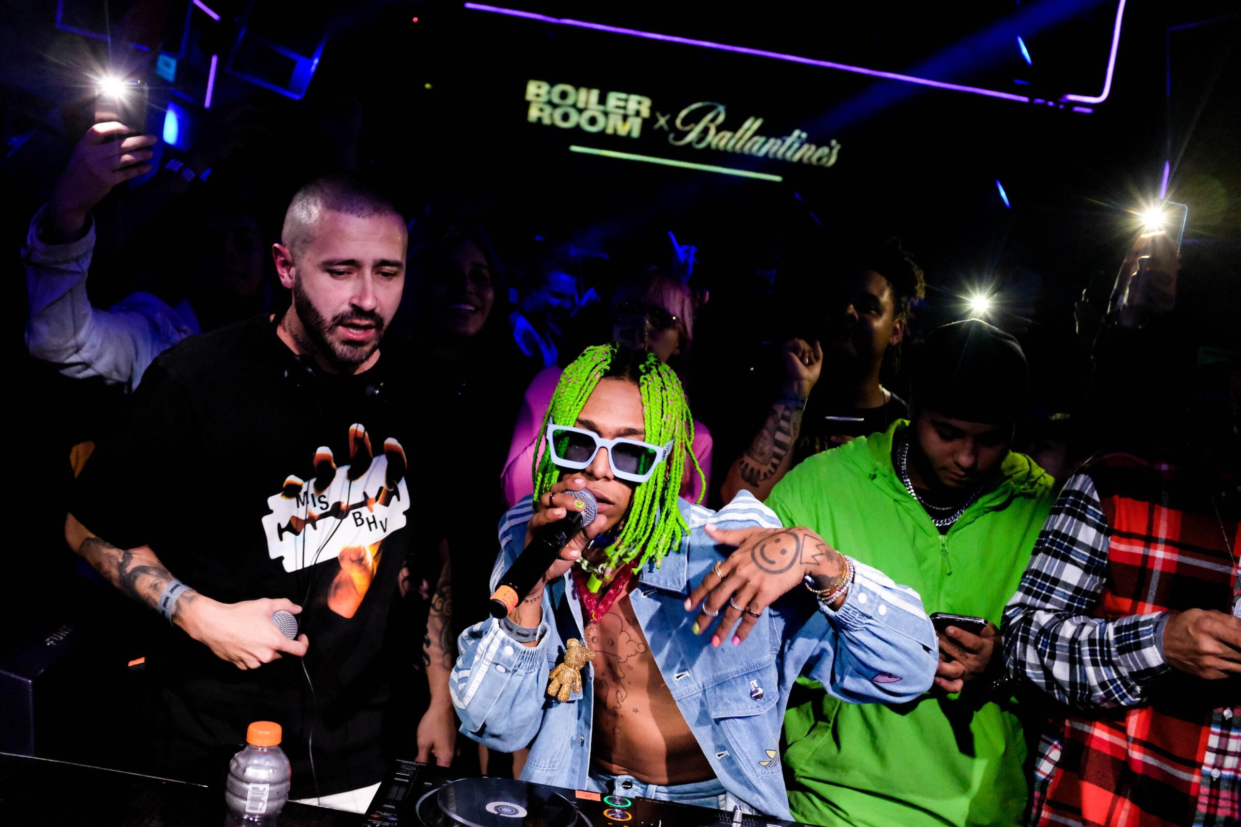 Ballantines True Music Bogata DJ Pope