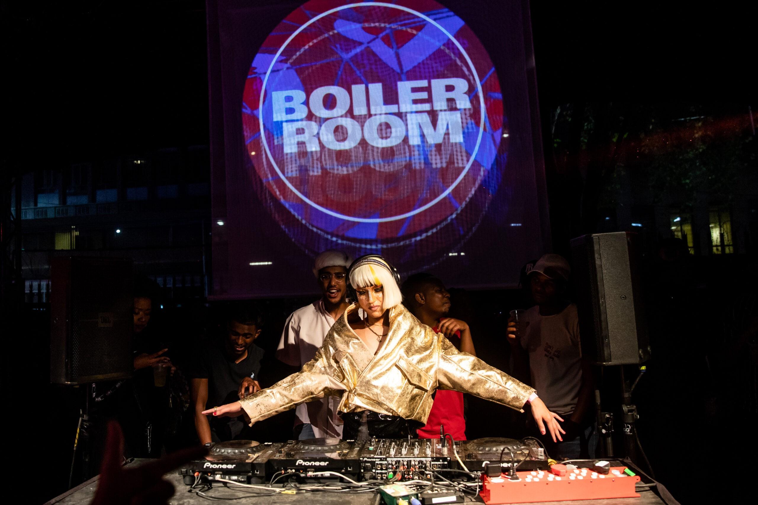Ballantines Boiler Room DJ Queezy