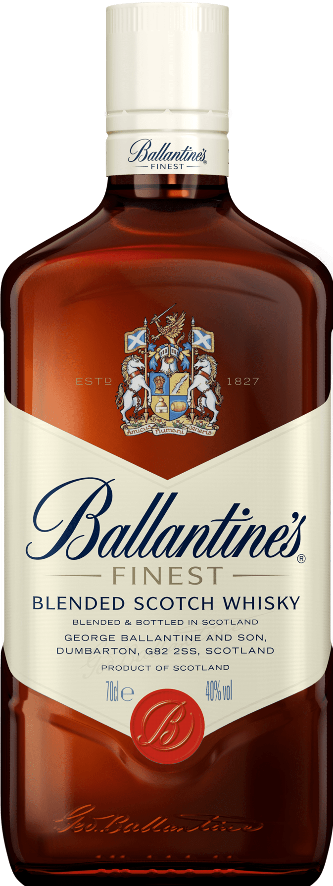 Ballantine's Finest Scotch Whisky Bottle