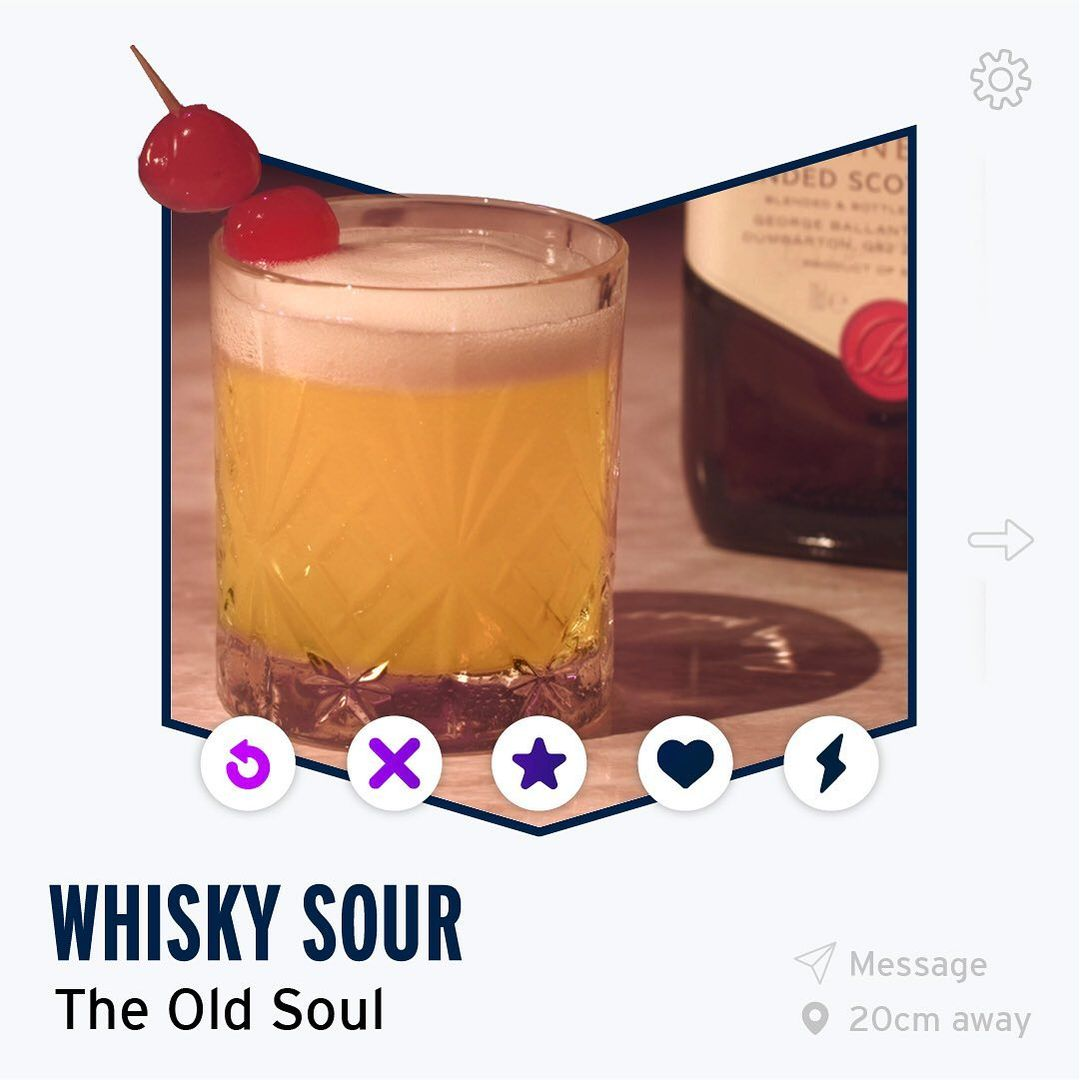 whisky sour recipe ballantines day