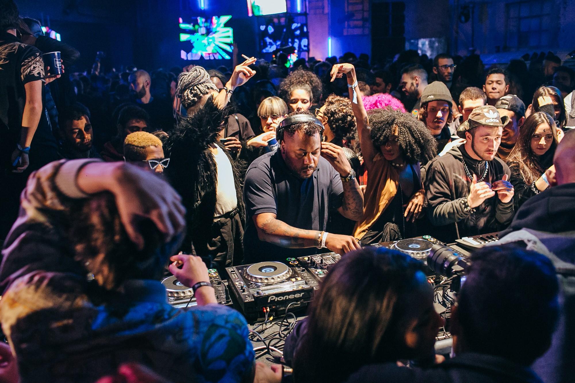 Club scene from Brazil